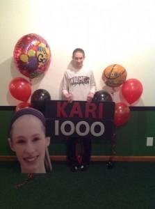 Clements scores 1,000